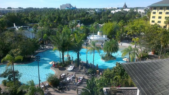Loews Royal Pacific Resort at Universal Orlando : View from the 5th floor