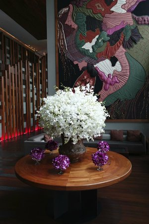 Hansar Bangkok Hotel: Lounge area
