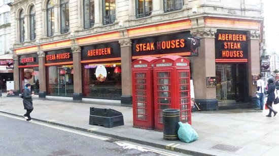Angus Steakhouse: Aberdeen Angus Steak House - near Leicester Square