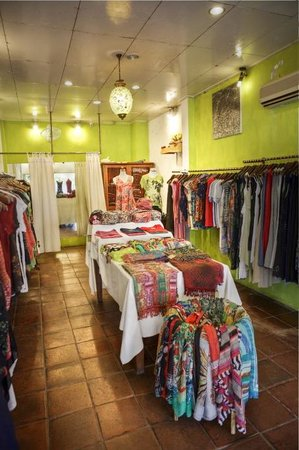 Harmonis: inside view of the beautiful garments available in this boutique