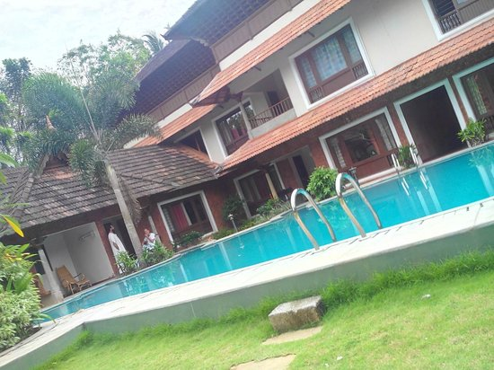 Krishnendu Ayurveda Hospital Chingoli : Pool view