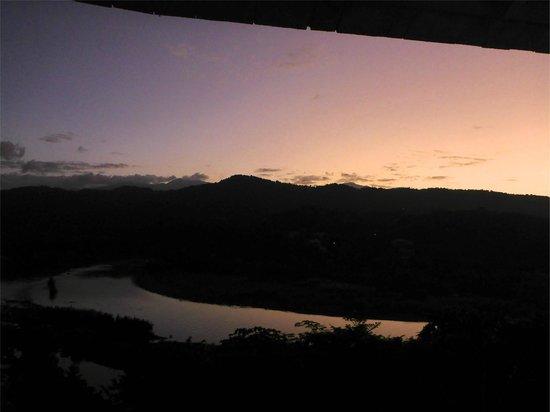 Rio Vista Resort: veranda Villa Amore view