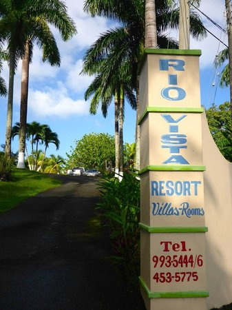 Entrance To Hotel Picture Of Rio Vista Resort Port Antonio