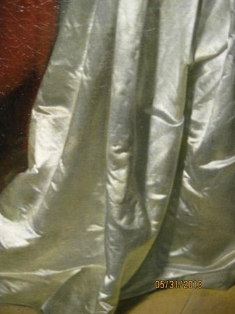 Scottish National Gallery: Detail of (yes that is a ) painting