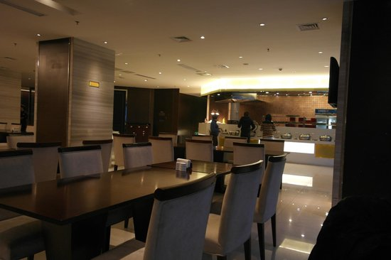 Nanjing New Town Hotel: Dinning Area
