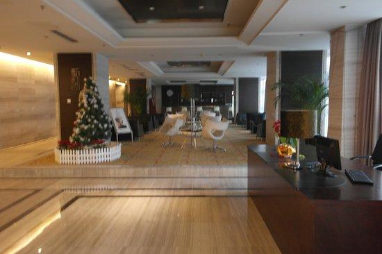Nanjing New Town Hotel: Lounge/Bar