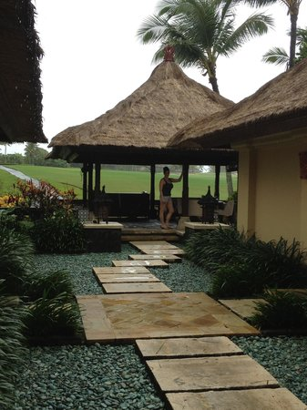 Pan Pacific Nirwana Bali Resort : Villa porch