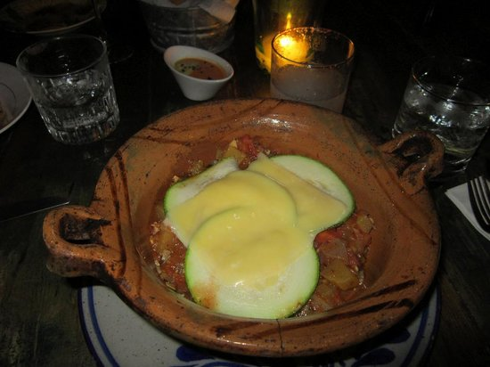 El Tabano : pumpkin ravioli