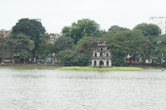 Lake of the Restored Sword (Hoan Kiem Lake): Turtle Tower