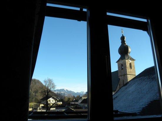 Gasthof Schorn: vista dalla finestra della camera