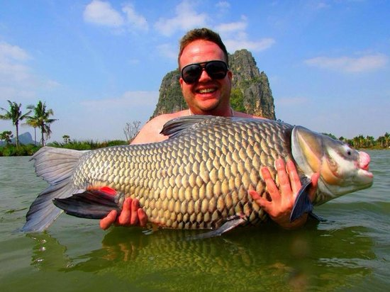 Jurassic Mountain Resort & Fishing Park: One of many fantastic fish over a 3 day session!