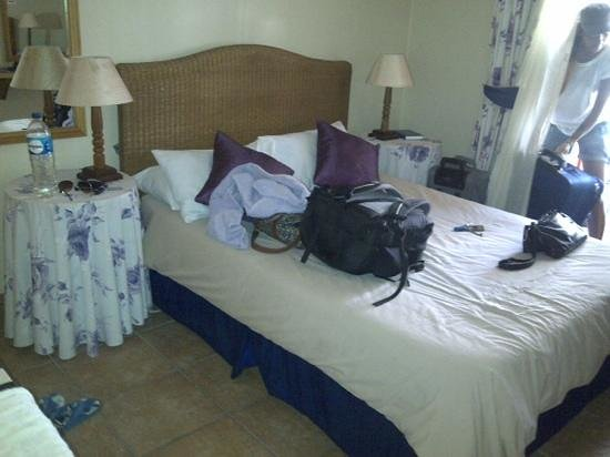 Mossel Bay Backpackers: double bed