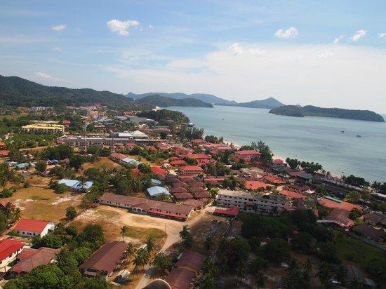 Langkawi Gliders: Pantai Chenang village view