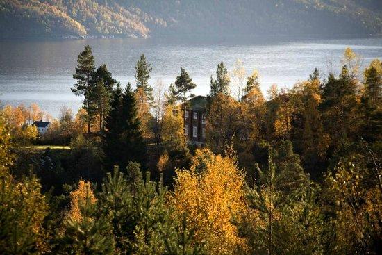 Skodje Municipality, Norway: Autumn hotel view