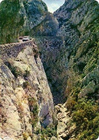 Cubieres-sur-Cinoble, France: Gorges de Galamus