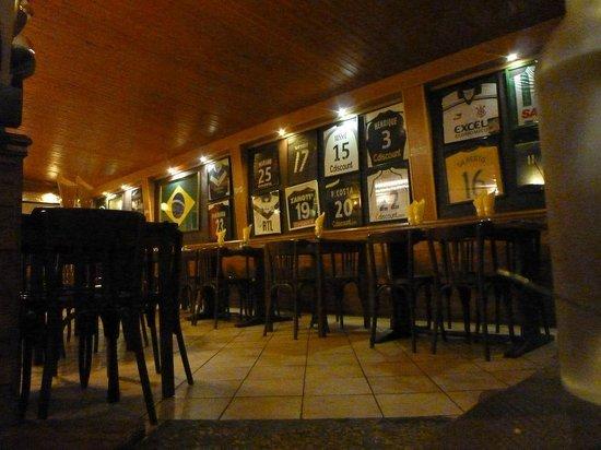 Carioca Restorante : le mur des footeux