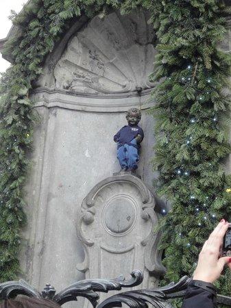 Bruxelles manneken pis foto
