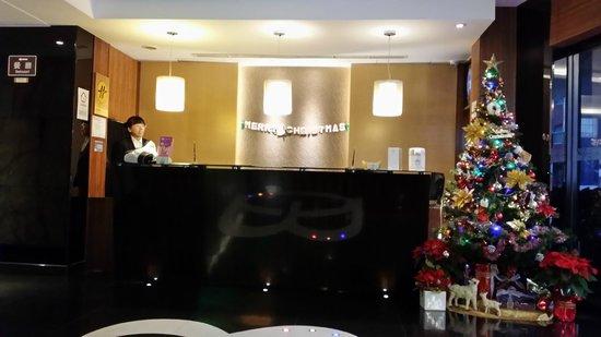 Hotel B Taipei: Taipei B Hotel Lobby