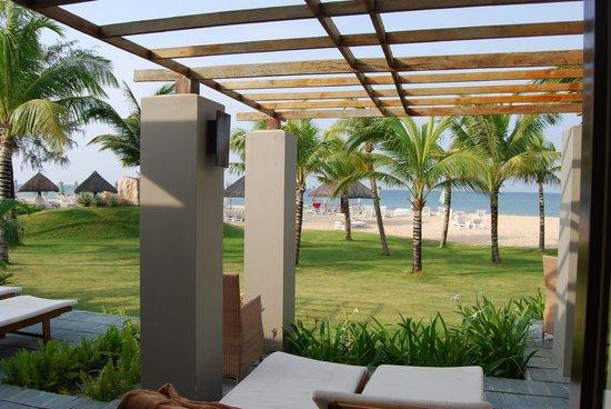 Eden Resort: View from room
