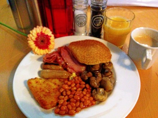 WestCord Art Hotel Amsterdam: My breakfast