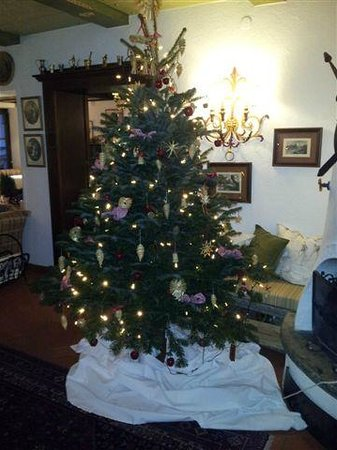 Hotel Haldenhof: Christmas tree