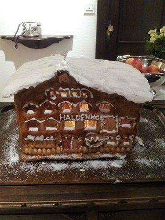 Hotel Haldenhof: Gingerbread House