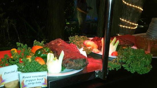 Reethi Beach Resort: I'm glad I'm not vegetarian!