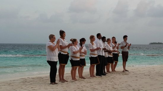 Reethi Beach Resort: Reethi's wonderful staff