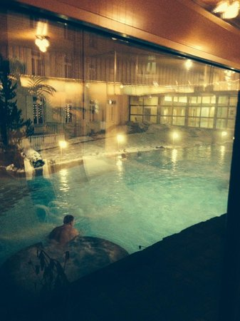 Thermalhotels & Walliser Alpentherme Leukerbad: terme interne