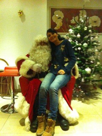 Residence Val d'Azur: Le père Noel !!!