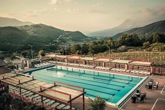 Villa Paolina: Piscina
