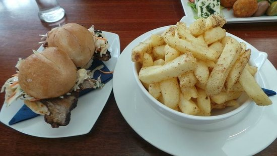Lobethal Bierhaus: Chips with Truffle Oil