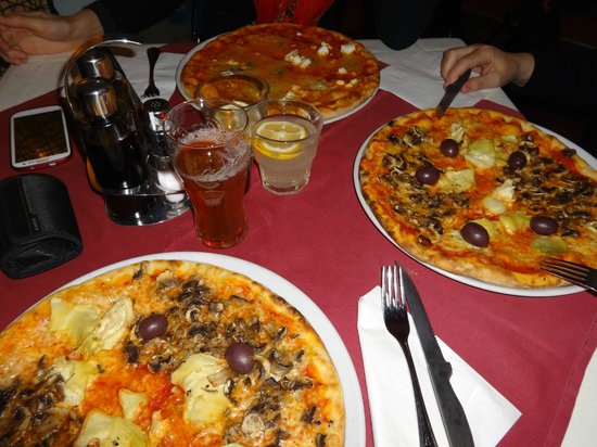 Venezia: pizza