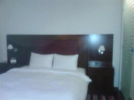 Worldhotel Grand Winston: het bed