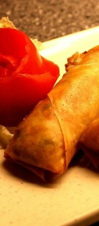 Dragon Bay Inn Chinese Restaurant: Home Made Mini Spring Rolls