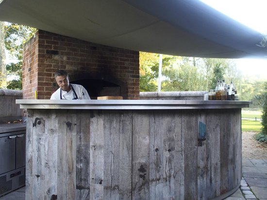 The Pig: Flat breads cooked outside