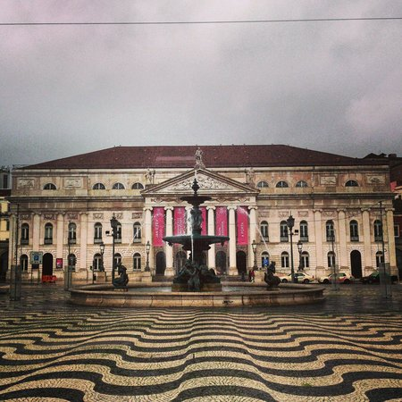 Rossio Square: Jan2014