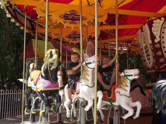 Adventure Park Geelong: The carousel