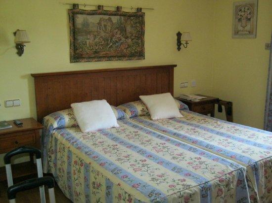 Casona de la Reyna : Bed