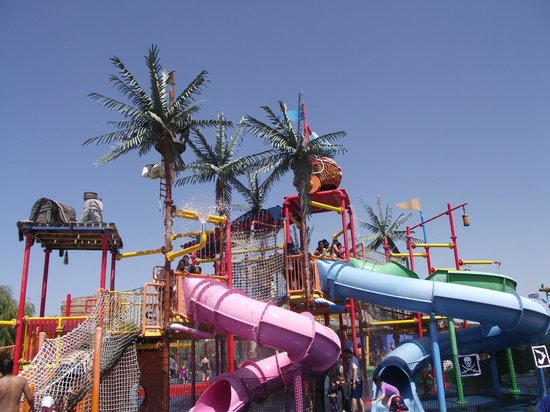Adventure Park Geelong: The biggest water playground area.