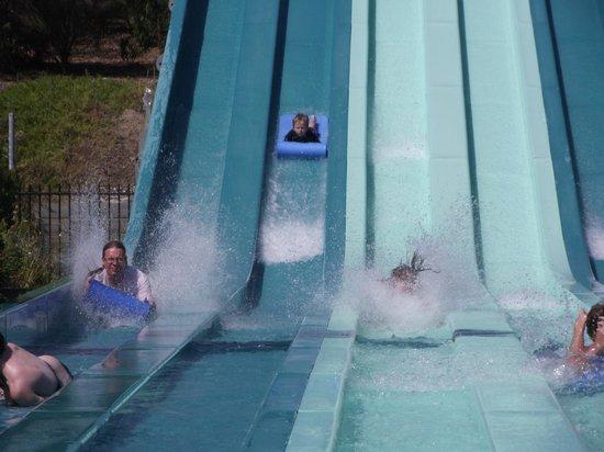 Adventure Park Geelong: Giant racing waterslide