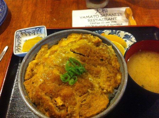 Yamato Japanese Restaurant : Katsu-don