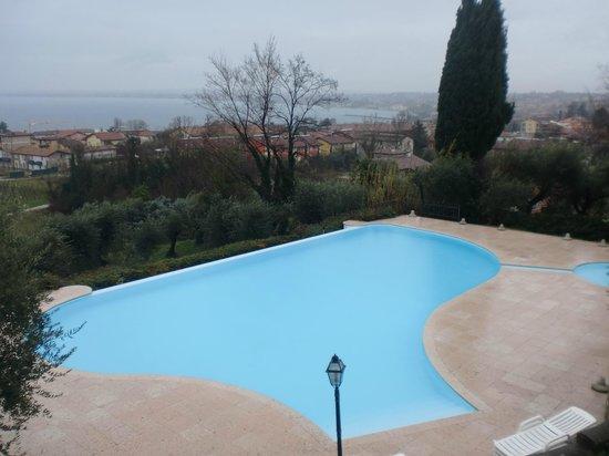 Castello Belvedere Apartments : piscina d'inverno