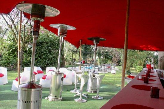 La Villa Natka: La terrasse