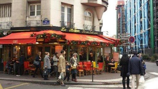 La station rambuteau paris les halles restaurant reviews phone number photos tripadvisor - Rue rambuteau paris ...
