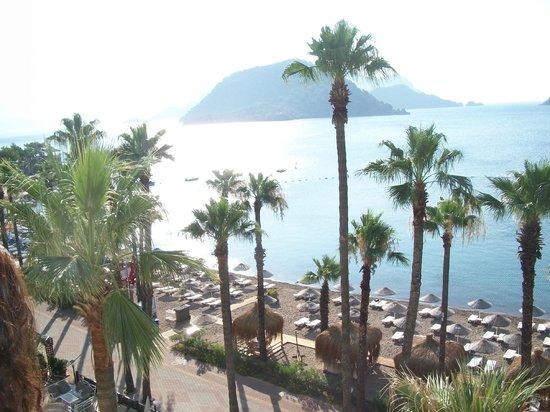 Fantasia Hotel De Luxe Marmaris: sea view