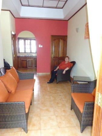 Cote d'Or Chalets: das Wohnzimmer
