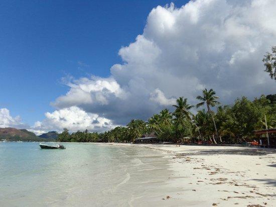 Cote d'Or Chalets: der weitläufige Strand