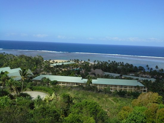 Outrigger Fiji Beach Resort: view from the Bebe spa