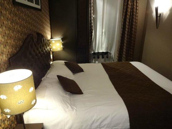 Hôtel du Prince Eugene: Bedroom
